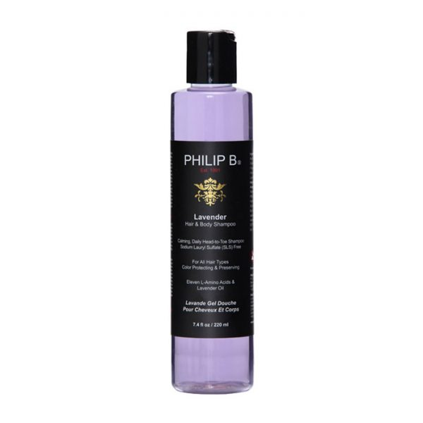 philip b lavender hair body shampoo